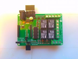 Modified Relay Shield