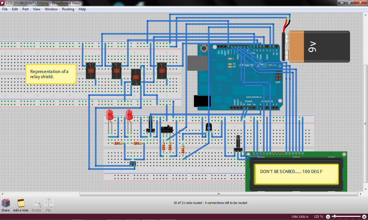 Diy Arduino Thermostat on 12 volt switch diagram