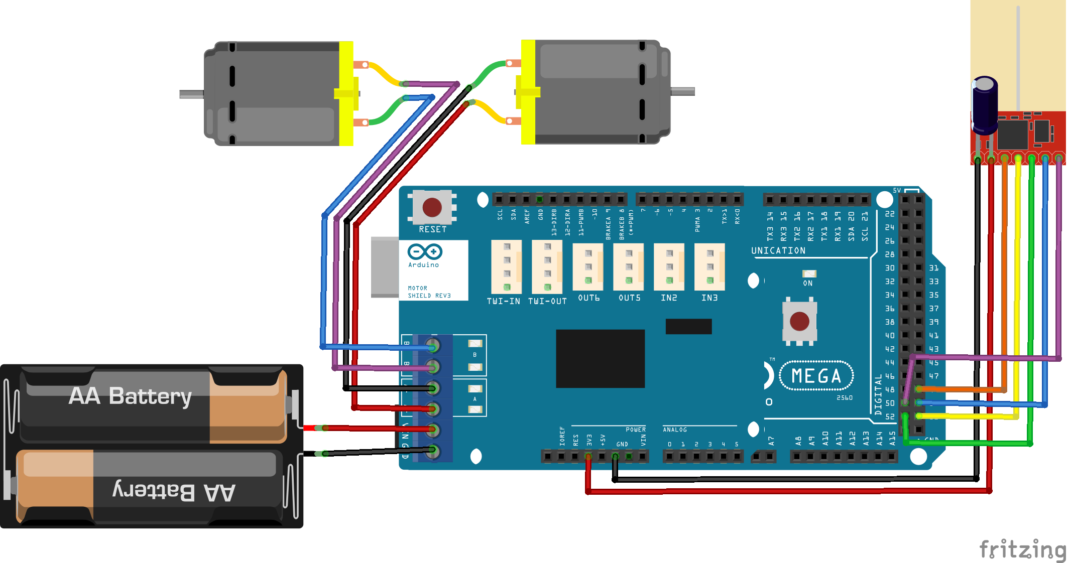 Arduino Nrf24 Dual Drive Motor Remote Controlled Car Here Http Arduinoinfowikispacescom Popularics Scroll Down You Need Is A Cell Phone Charger And Cable To Charge It Then Just Use Standard Usb Plug Into Your Controller Very Convenient